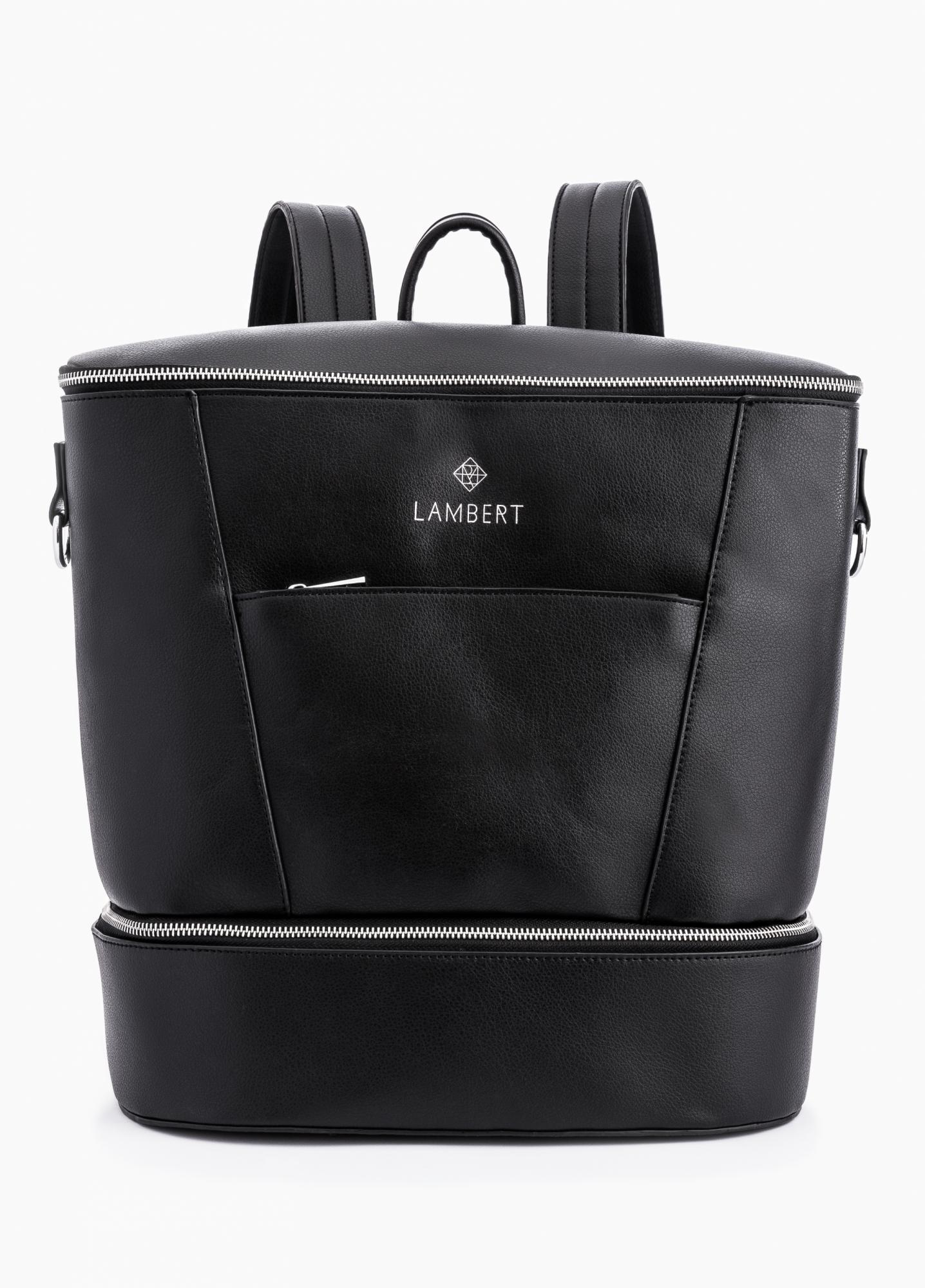 Lambert : Sac à dos et à couches aussi design que pratique!