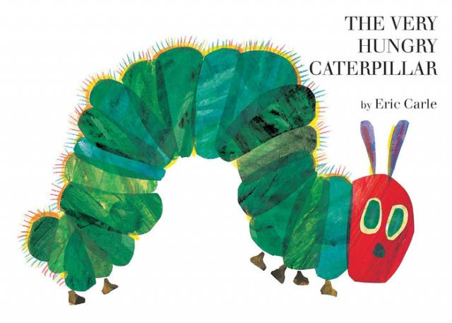 The Very Hungry Caterpillar, Eric Carle, Penguin Random House