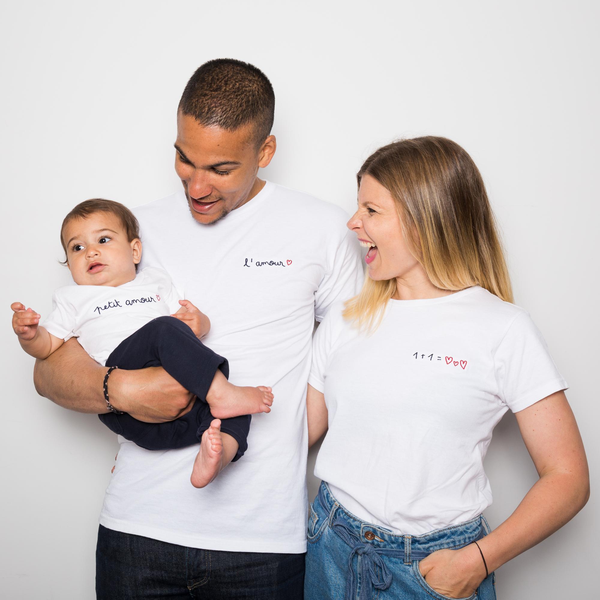 Des t-shirts et des bols bretons personnalisés pour souligner la naissance d'un enfant!