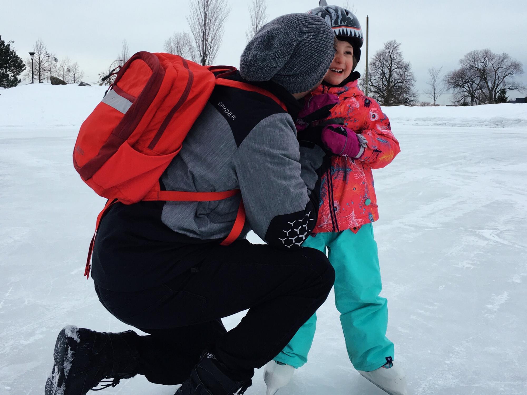 Petites joues rougies par le froid : les plus belles photos d'hiver des TPL Moms