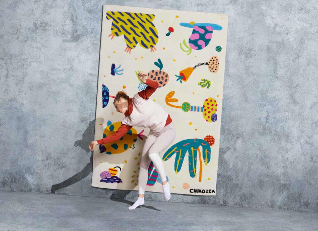 IKEA lance la collection de tapis ART EVENT 2019 et c'est absolument sublime