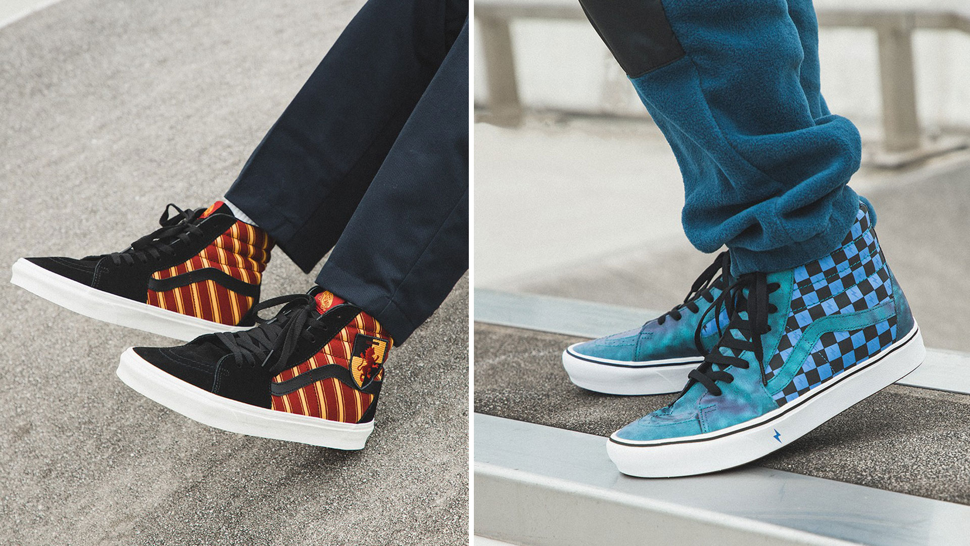Vans lance enfin sa collection Harry Potter et on est trop fans!