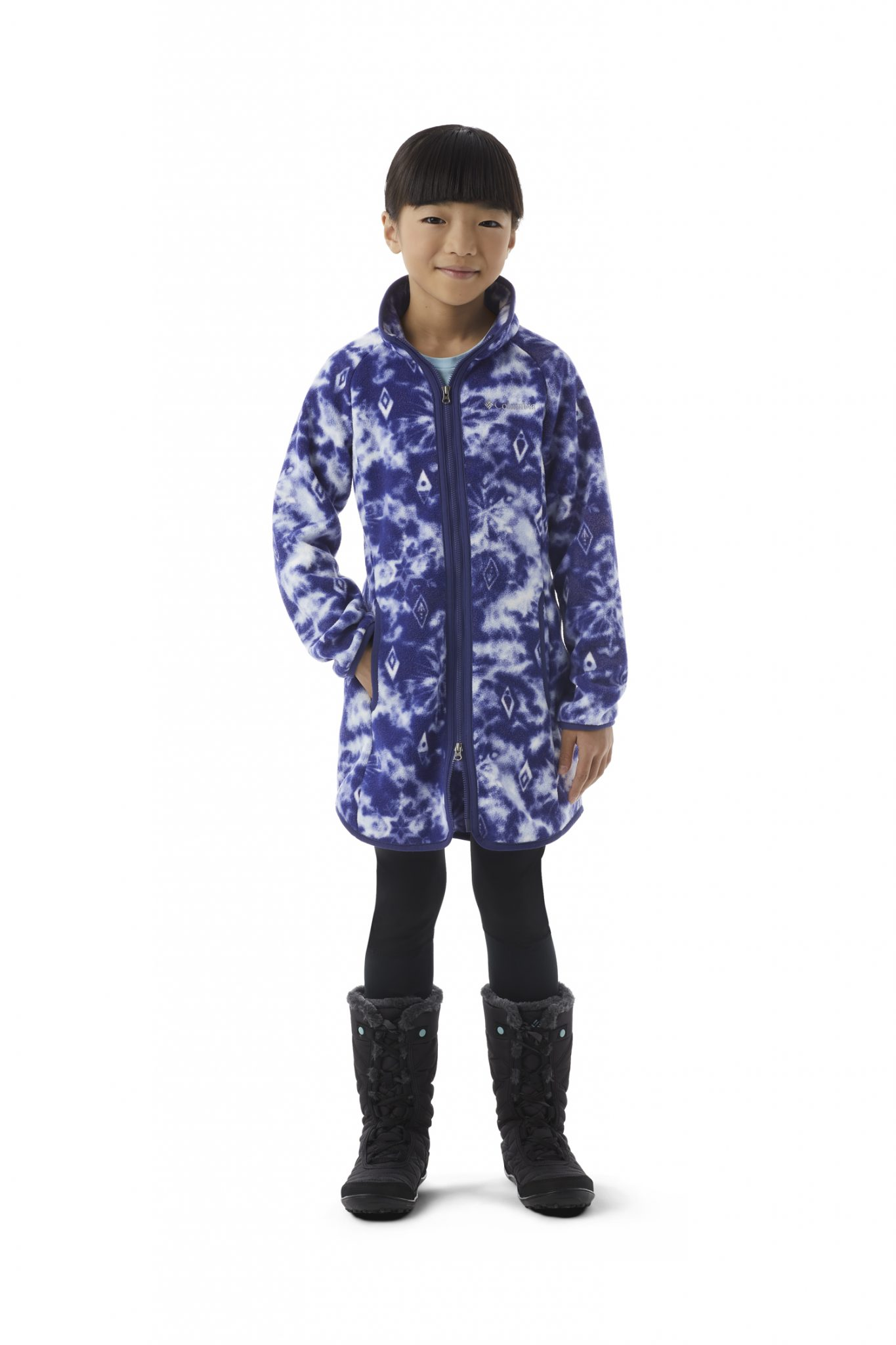 Elsa Long Full Zip Fleece Youth