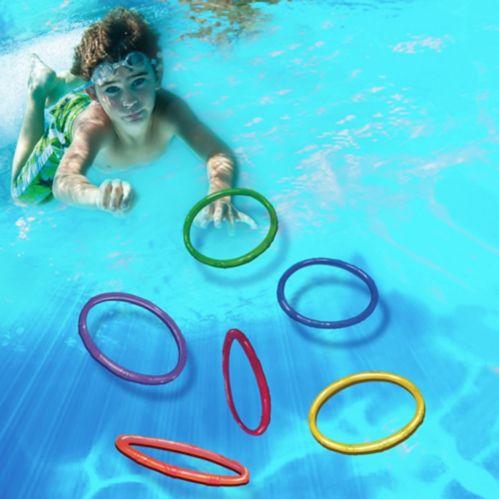 Anneaux Banzai pour piscine, 6 pièces