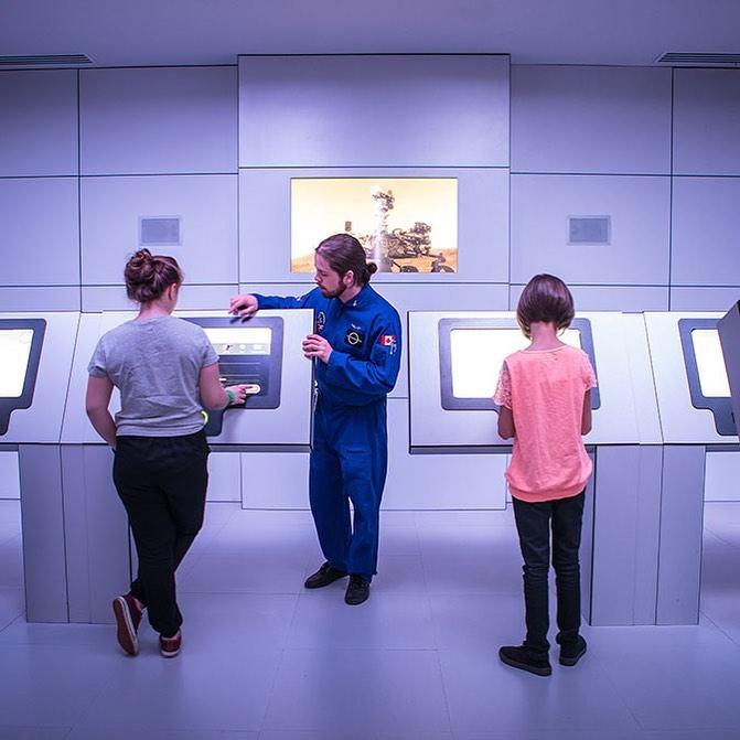 Visiter le Cosmodôme