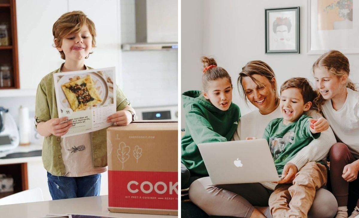 Cook it lance une initiative pour soutenir 5 organismes d'ici dans leurs missions