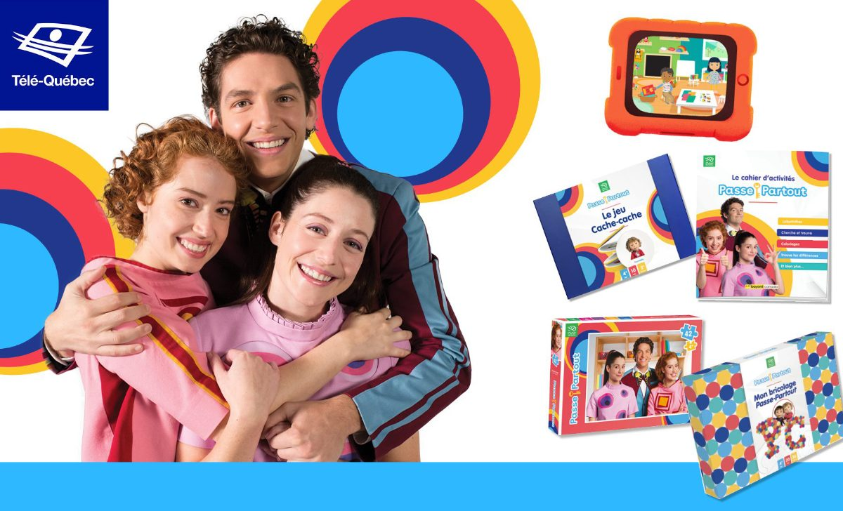 Passe-Partout lance un cahier d'activités pour les enfants