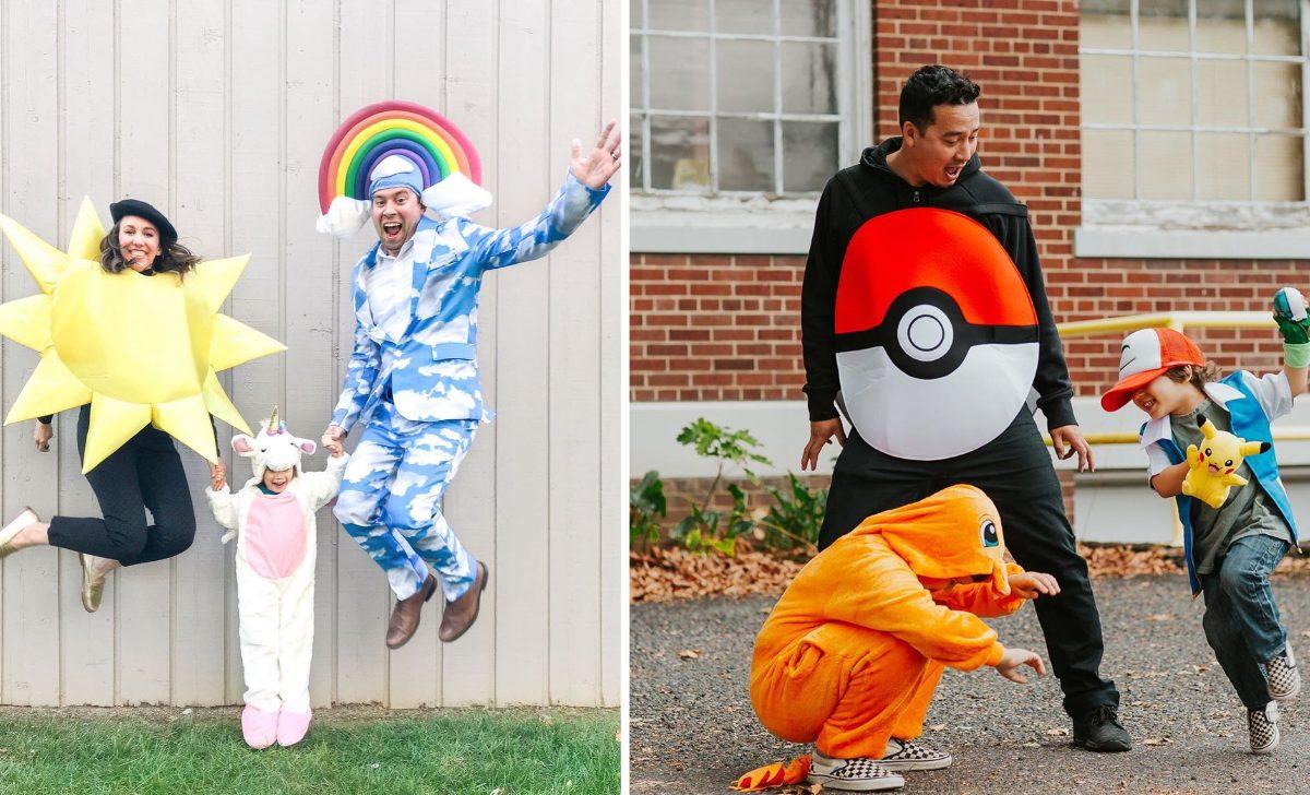 10 idées pour se costumer en famille à Halloween