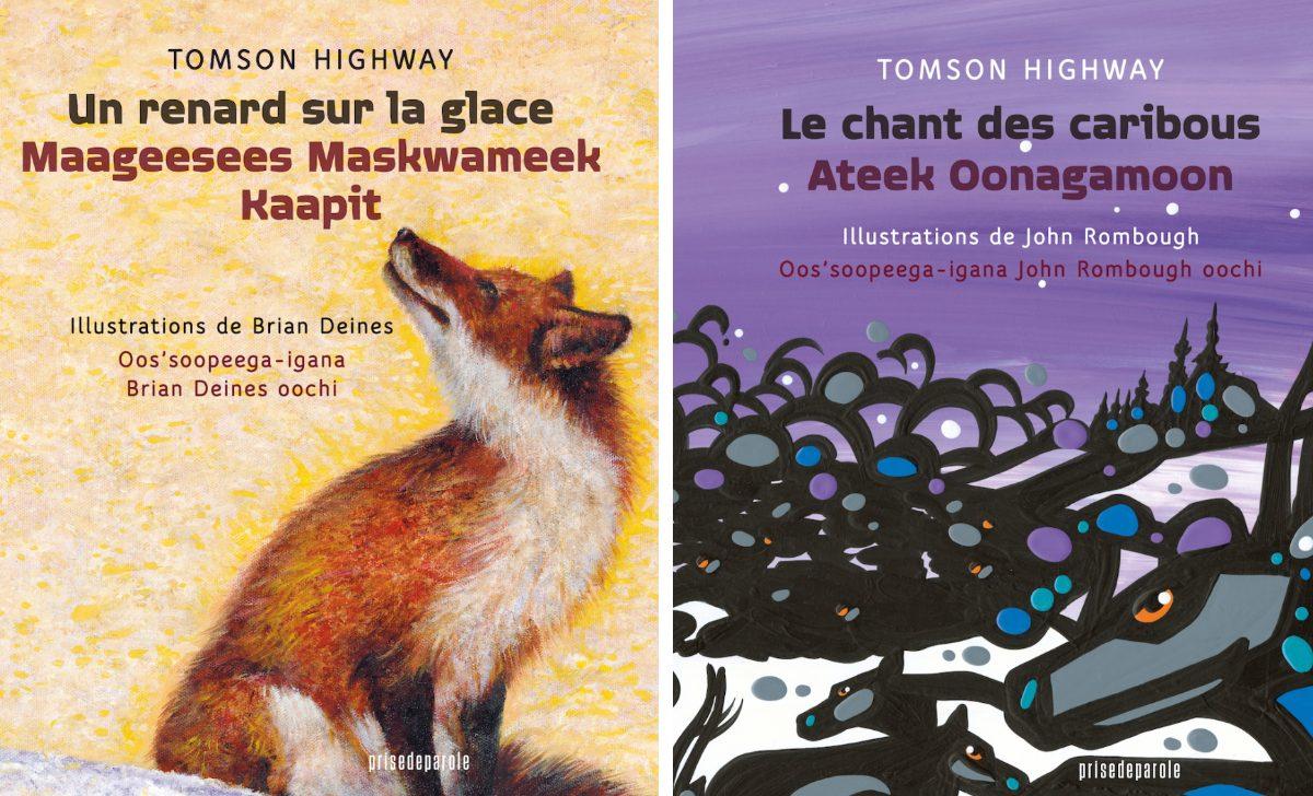 Ces magnifiques albums pour enfants sont écrits en français et en cri