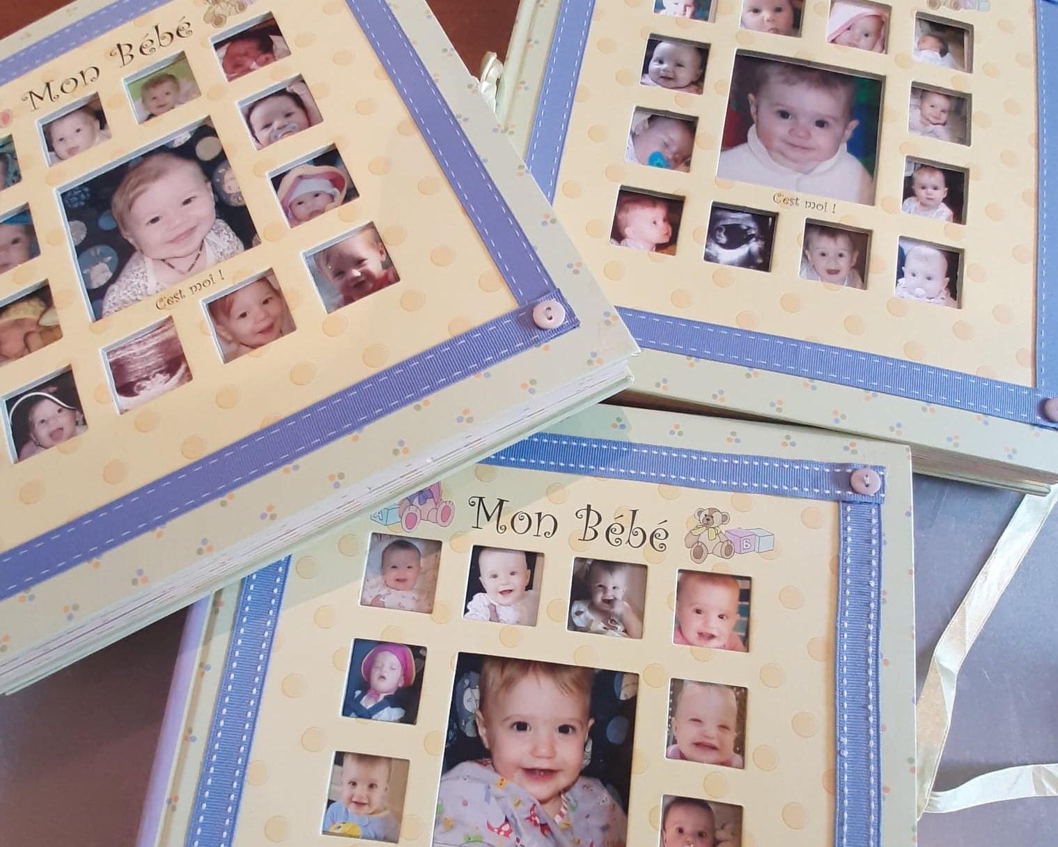 Les livres de bébés: une montagne de souvenirs à gérer...