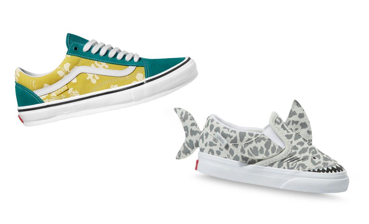 Vans lance de nouveaux souliers pour toute la famille