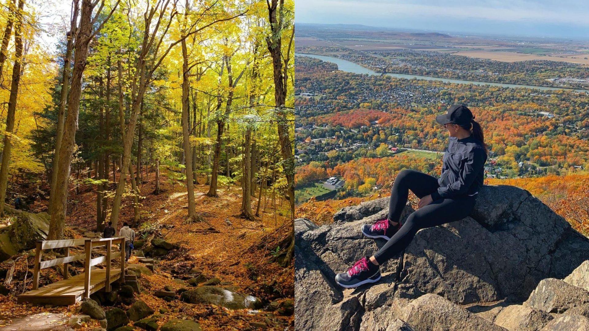 6 randonnées à moins de 2h de Montréal où admirer les couleurs d'automne en pleine nature!