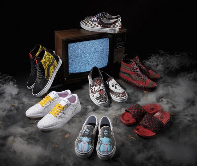 Vans lance une collection de souliers pour l'Halloween